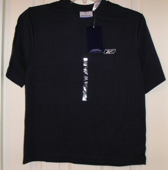Reebok Boys T-Shirt T Shirt Top Navy Blue Small NEW