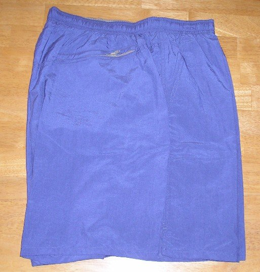 Speedo SwimSuit Swim Suit Mens Smoke Blue 2XL Lined Shorts NEW