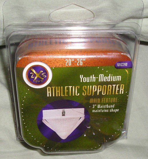 2XS Sports Youth Medium Athletic Supporter Baseball Boys Jockstrap NEW