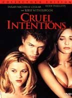 VHS Movie Cruel Intentions Sarah Michelle Geller Reese Witherspoon Wicked Fun Film