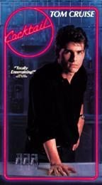 VHS Movie Cocktail with Tom Cruise Romantic Comedy Film