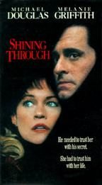 VHS Movie Shining Through Michael Douglas Melanie Griffith Great Film