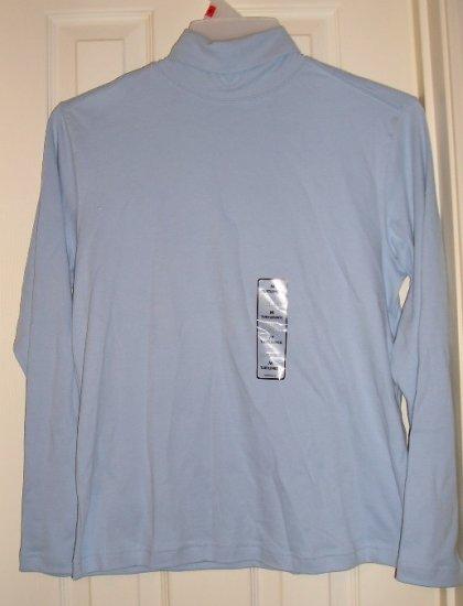 Basic Editions Long Sleeve Womens TurtleNeck Shirt Top Womens Medium NEW