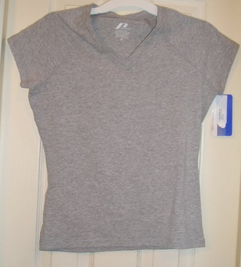 Womens Teens Juniors Girls Tagless  Athletic Shirt Top XS NEW
