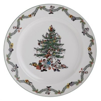Spode Disney Christmas Tree Celebration Service Plate NEW
