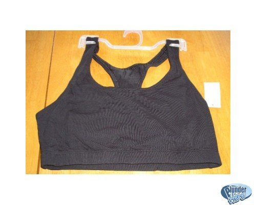 NEW Sports and Fitness Bra Medium BLACK Jogging Too