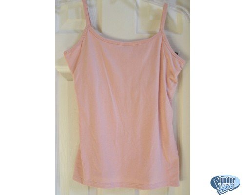 NEW Sonoma Camisole w Bra - Small Womens Teens Girls PINK