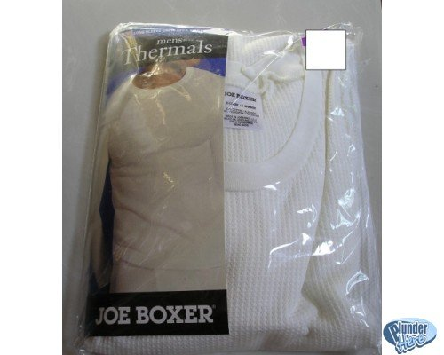 Mens Long Underwear Under Wear Top Shirt White XL NEW