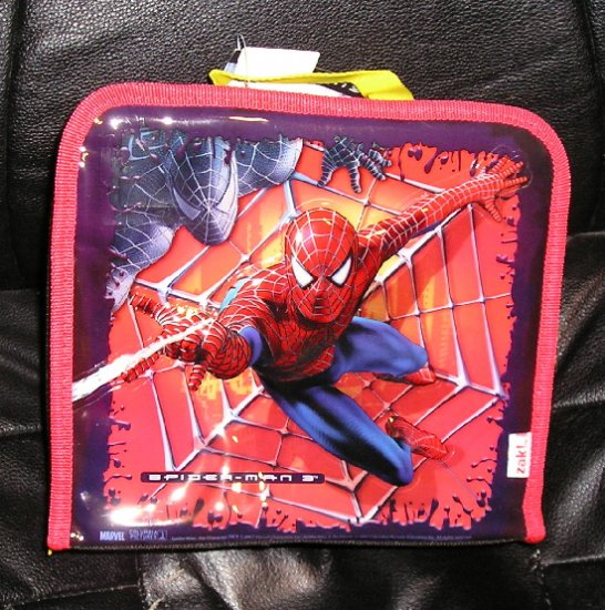 SpiderMan Spider Man Lunch Box NEW Black Red Lunch Carrier