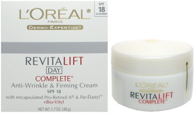 LOreal L'Oreal Revitalift Day Complete Anti-Wrinkle Firming Cream SPF 18