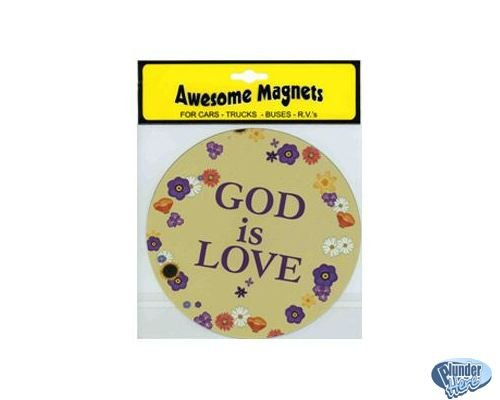 God is Love Magnet Cars Trucks Buses RV - New Awesome Magnets