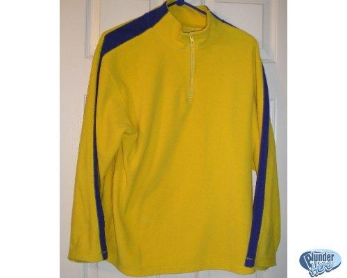 Old Navy Teens Boys Fleece SweatShirt Sz 14 Yellow Blue CLEARANCE