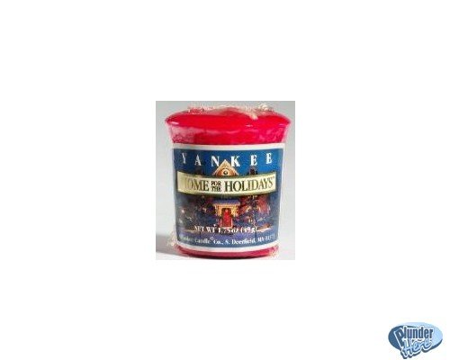 Home for the Holidays Votive Candle Yankee Sampler NEW