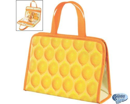 New Avon Naturals Travel Bag Lemon Theme FREE SHIPPING
