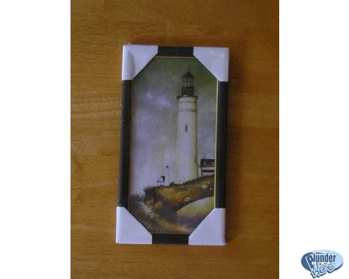 New in Wrapping Wall Art - Antique Look - Light House Design Nice