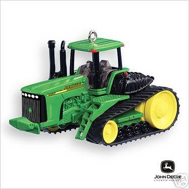 NEW 2007 Hallmark John Deere Collectible Christmas Ornament 9420T Keepsake Ornament