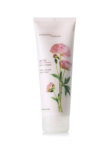 Bath & Body Works Peony Body Cream NEW 8 oz