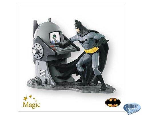 NEW 2007 Hallmark Batman Villain Database Collectible Ornament Keepsake