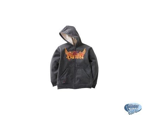 NEW Tony Hawk Hoodie Hooded Jacket Sz XL Dark Gray Phoenix