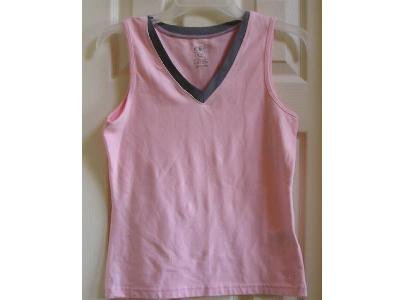 Womens Teens Sport Tank Top Pink NEW Small SALE