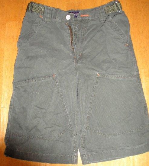 Faded Glory Boys Shorts Sz 12 Army Green Like New
