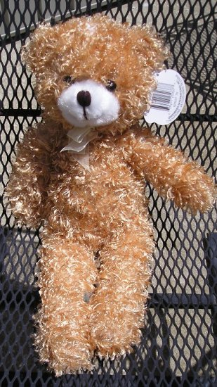 Cuddly Cousins 19 Inch GOLDEN Teddy Bear FREE Shipping NEW