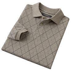 Croft & Barrow Mens Polo Shirt Long Sleeve Sz XL