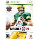 Madden 2009 XBOX 360 Platform Sealed NEW Same Day Shipping