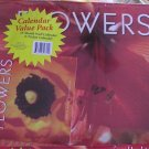Flowers 2009 Wall Calendar 16 Month+ Bonus Pocket Calendar NEW