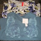 Lot of 2 NEW Stretch Tank Tops Womens Large Floral Design 2 for 1 NEW
