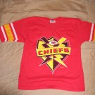 Team Rated Medium KC Kansas City Chiefs Jersey Vintage Football Jersey 1997