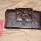 FADED GLORY Wallet Billfold Checkbook Holder Large Size Multi Functional
