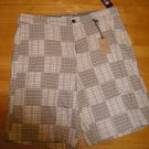 Mens Plaid Pattern Shorts Ralph Lauren Chaps Mens Shorts Sz. 38 with TAGS