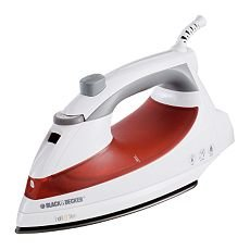 Black Decker Light N Easy Iron F920 Steam Light Iron White in Box