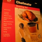 Chefmate 13 Piece Roasting Set Baster Thermoter Brush and MORE NEW