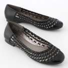 NEW BLACK Women's Flats Shoes Size 8.5 Womens Casual Flat Shoes Black by SO