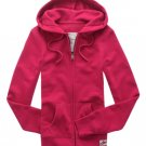 Aeropostale Berry Hoodie Hooded Jacket Pockets Juniors Small Zip Front NEW