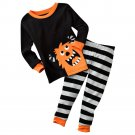 NEW Monster Pajama Set Pajamas Carters Black Baby Size 12 Months NEW