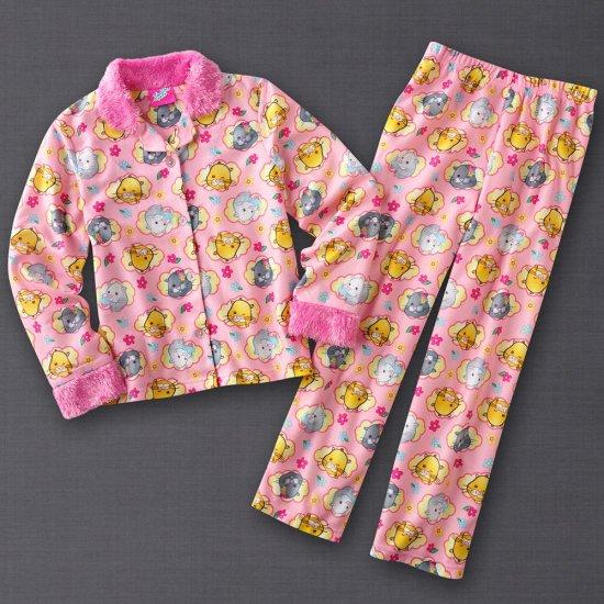 Zhu Zhu Pets Girls Winter Pajama Set 2 Pc Sz. 4 NEW