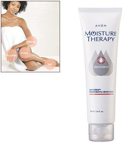 New Avon MOISTURE THERAPY Ash Therapy Moisturizing Relief Balm 3.4 Oz.