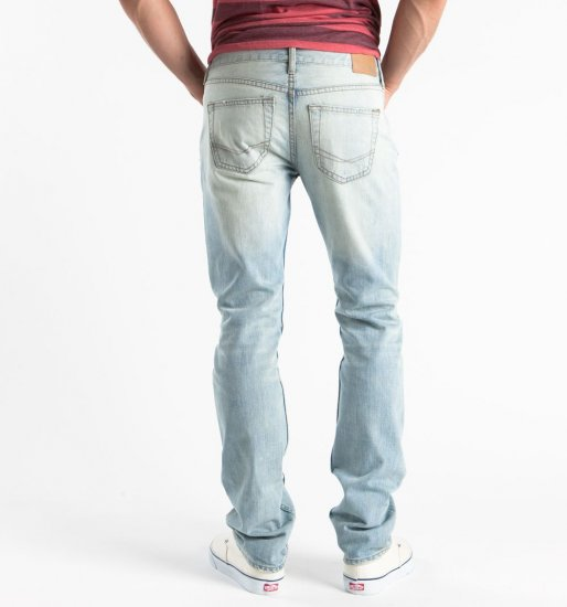 Mens Bullhead Dillon Skinny Big Sky Light Blue Jeans 36 x 32 NEW PacSun