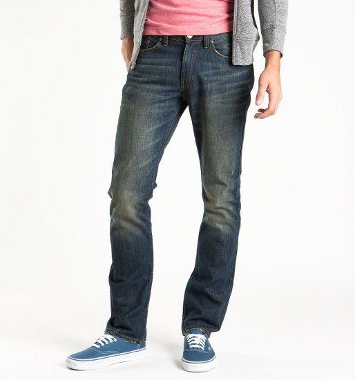 Mens Bullhead Dillon Skinny Inky Blue Jeans 30x32 NEW PacSun
