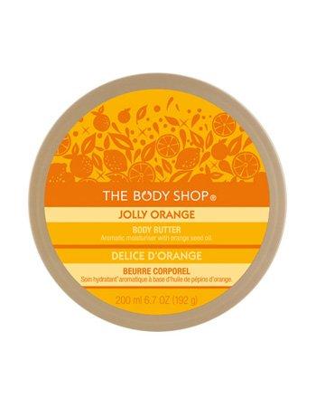 The Body Shop Jolly Orange Body Butter 6.7 oz NEW SEALED $20.00