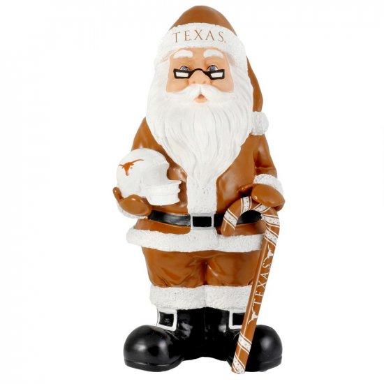 NEW Texas Longhorns Santa Christmas Decoration Resin Santa 10+ Inches