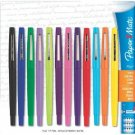 Paper Mate Flair Point-Guard Porous Point Pens Assorted 12 Markers