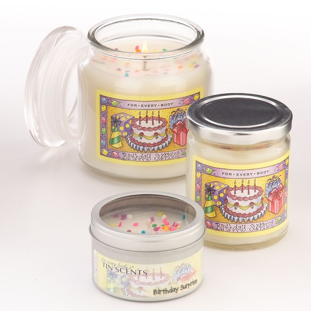 For Every Body Soy Jar Candle Large 21 Oz Birthday Surprise Scent Burns Up To 150 Hours