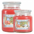 For Every Body Soy Jar Candle Large 21 Oz. Pomegranate Vanilla Scent Burns up to 150 Hours