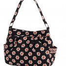 Vera Bradley Purse Handbag Shoulder Bag Reversible Tote in Pirouette $65 NEW