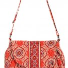 Vera Bradley Purse Handbag Shoulder Bag Saddle Up Paprika $65 NEW