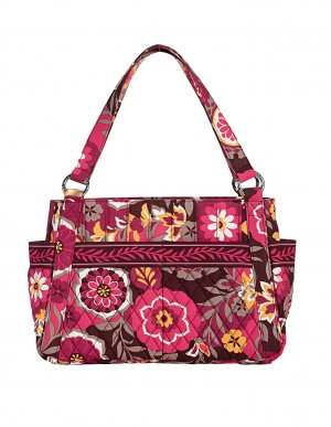 Vera Bradley Purse Handbag Hand Bag Stephanie Carnaby $68 NEW